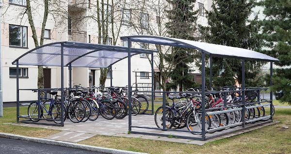 установка велопарковок в спб